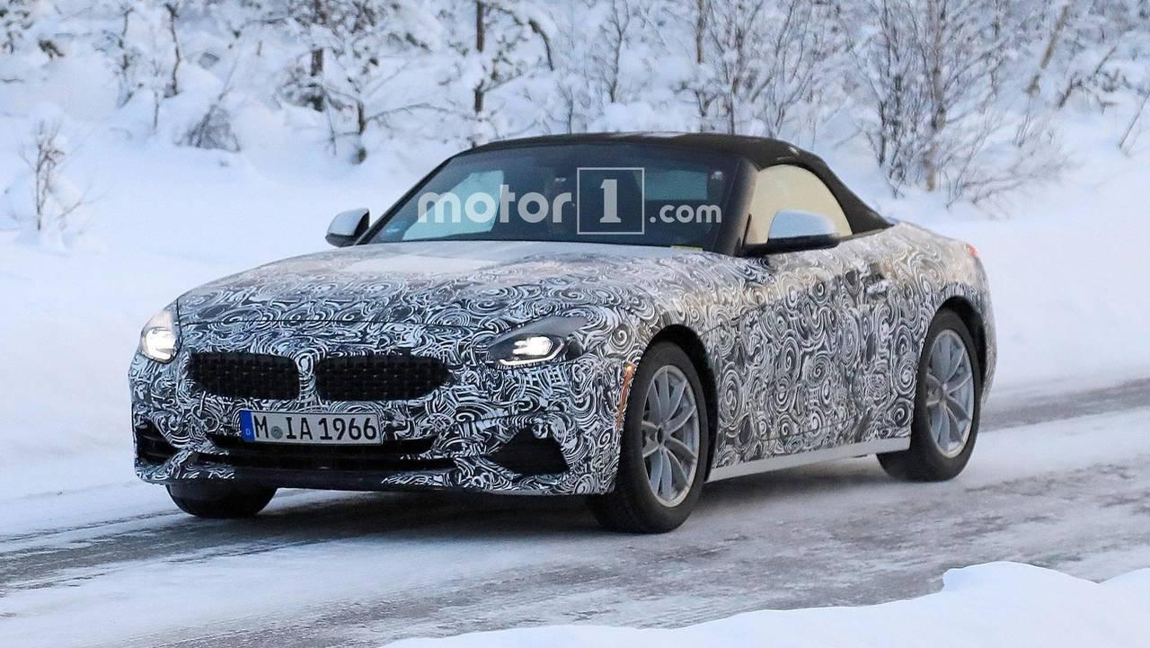 BMW Z4 2018, fotos espía