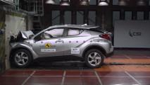 Crash test Toyota C-HR