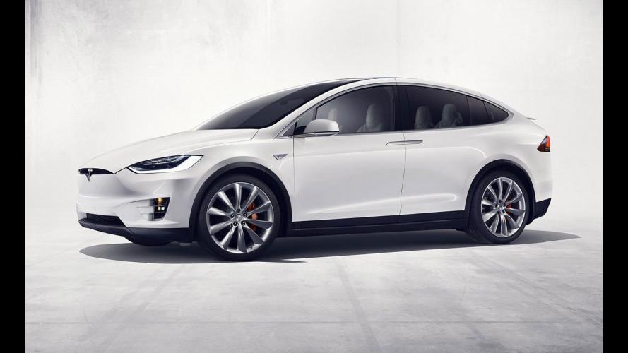 Tesla Model X, in Svizzera è l'auto della polizia