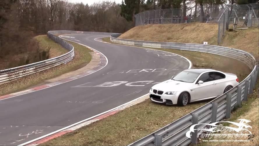 Egy előző-generációs BMW M3 lett a Nürburgring legújabb áldozata