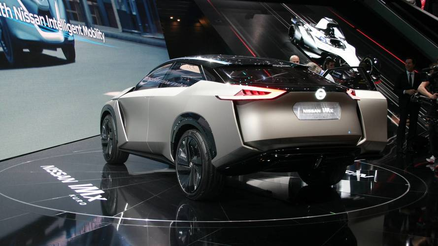 Nissan IMx Kuro konsepti 2018 Cenevre Otomobil Fuarı
