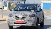 Renault Kadjar facelift spy photo