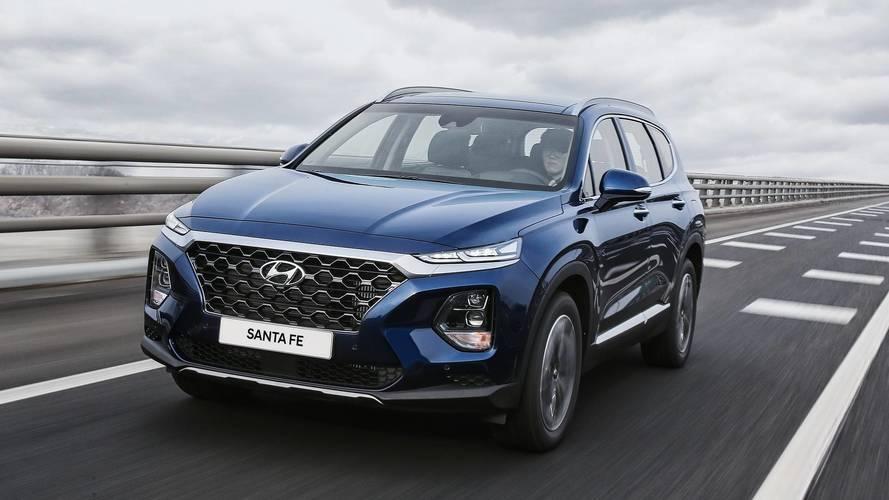 Fotos Hyundai Santa Fe 2018