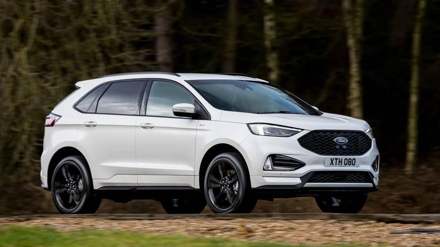 Makyajlı Ford Edge yeni dizel motoruyla Avrupa'ya geliyor