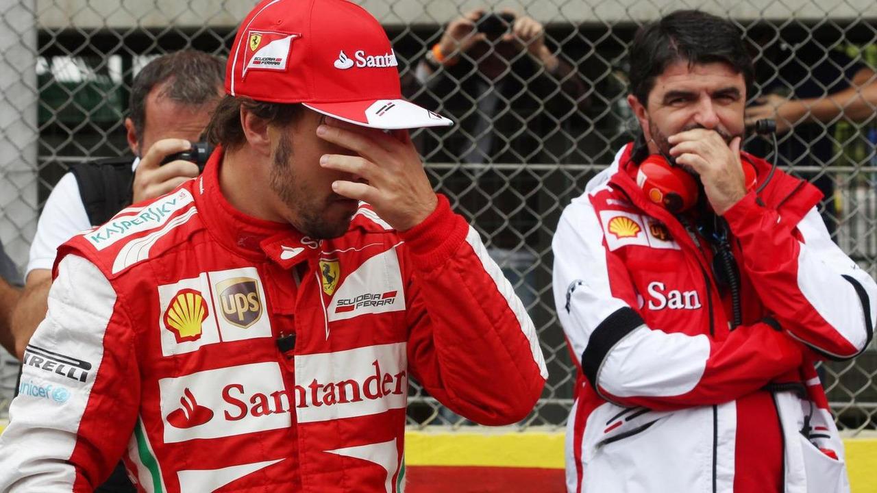 Fernando Alonso with Luis Garcia Abad 24.11.2013 Brazilian Grand Prix