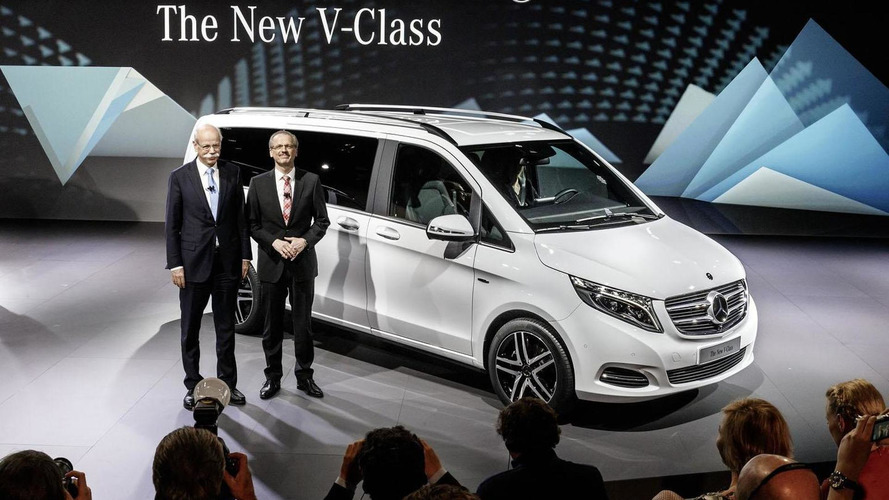 2014 Mercedes V-Class unveiled with upscale styling inside & out