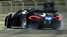 Chris Harris tests the McLaren P1 at Yas Marina track [video]