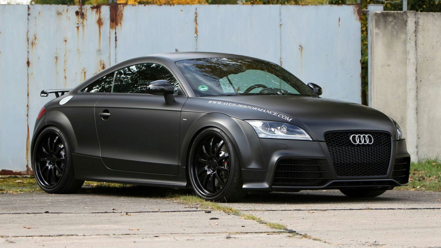 AVUS Tunes Audi TT-RS for 460hp