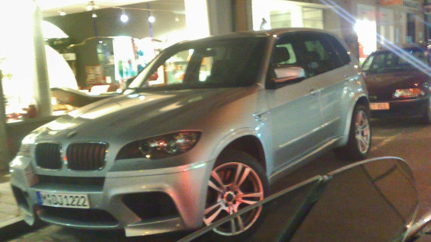 BMW X5 M First Real World Photos Following Debut