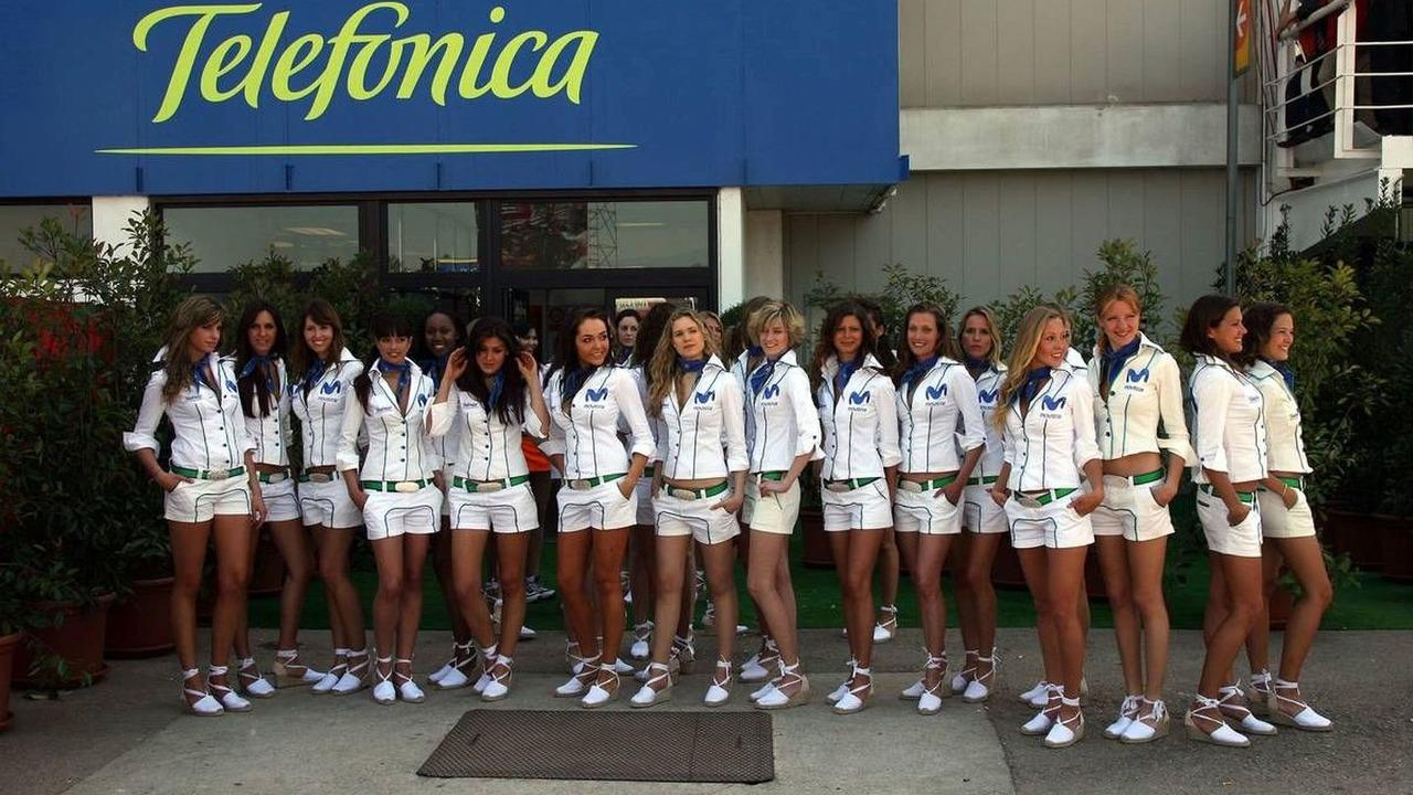 Telefonica girls, Spanish Grand Prix, Barcelona, Spain, 12.05.2007