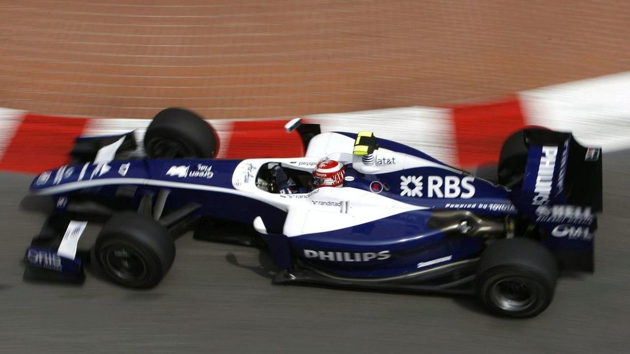 2009 Monaco Grand Prix -  Kazuki Nakajima, Williams FW31 Toyota