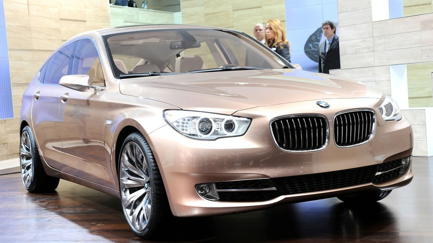 BMW 5-Series GT Concept Public Debut in Geneva