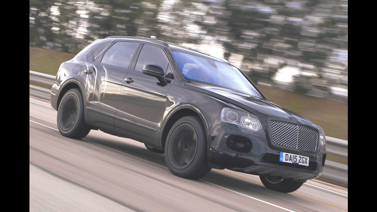 Bentley Bentayga a 301 km/h