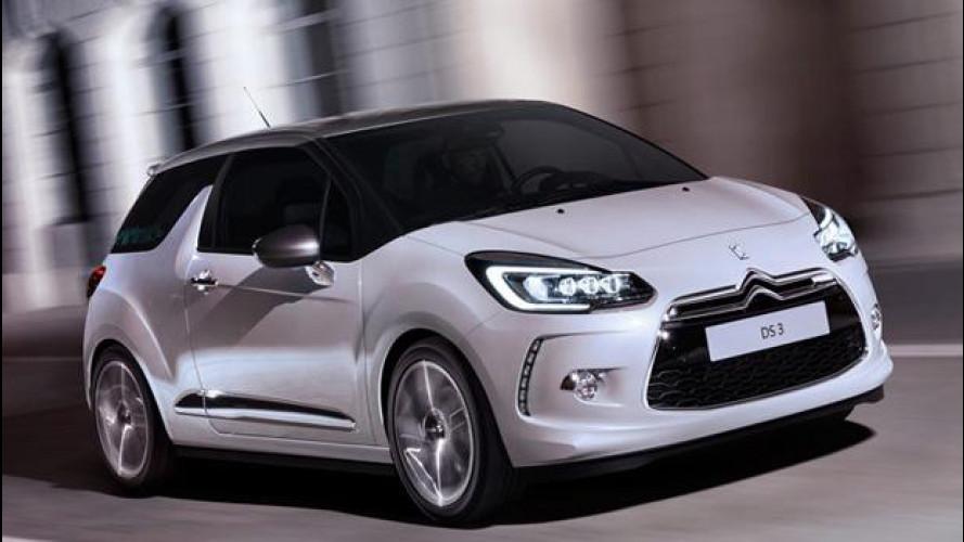 Citroën DS3 e DS3 Cabrio, nuove luci illuminano la strada del premium