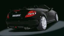 New Mercedes SLK tuned by Brabus