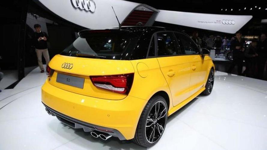 Audi's S1 Sportback pocket rocket races into Geneva with 231 HP