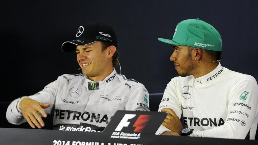 Rosberg ready for 'war' with Hamilton