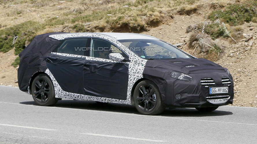 2015 Hyundai i40 Wagon spied in Europe