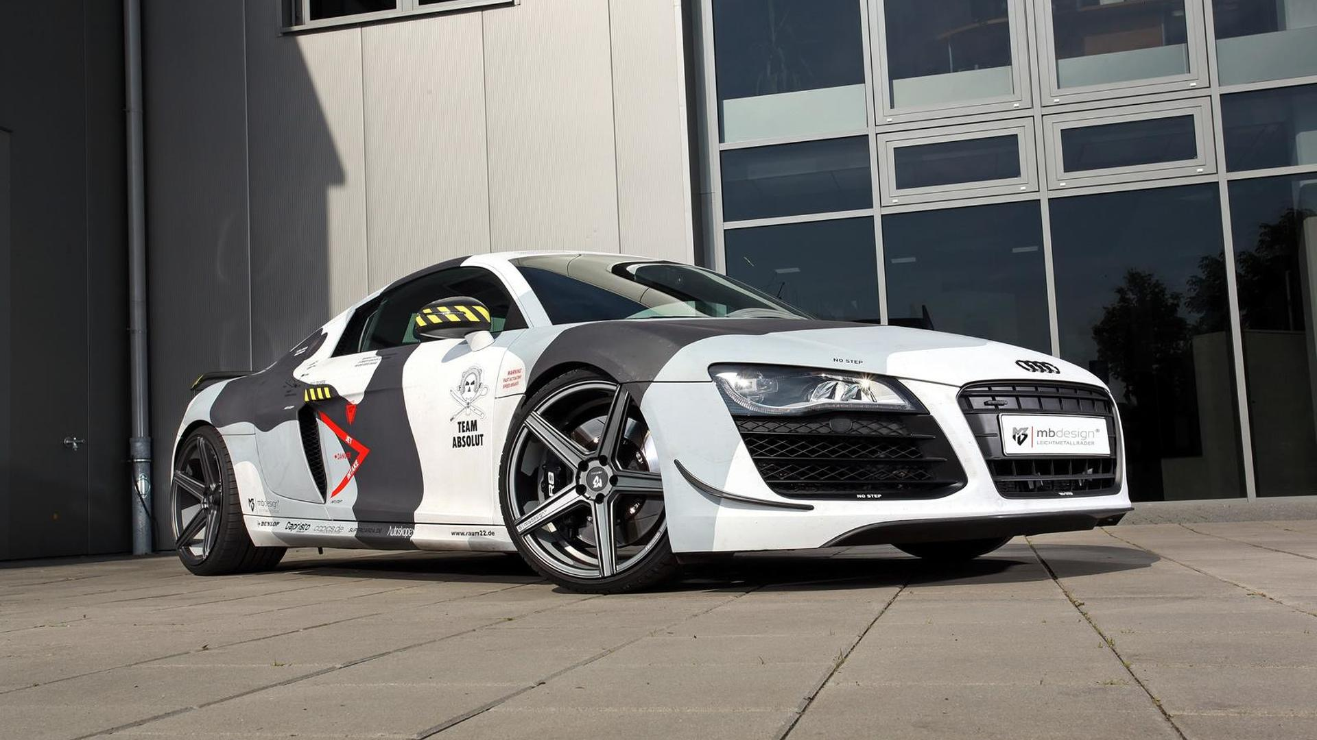 Камуфляж Audi R8 V8 от mbDESIGN