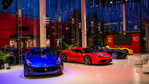 Ferrari 10th anniversary party in Russia