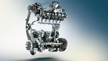 BMW TwinPower Turbo three-cylinder petrol engine