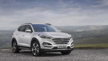 2016 Hyundai Tucson (UK-spec)