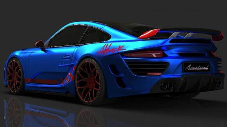Porsche 911 Attack revealed by Anibal Automotive Design [video]