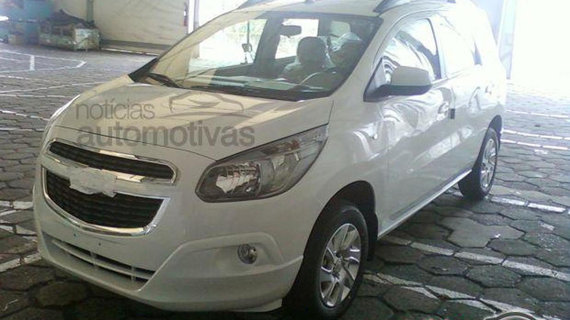 All-new 2013 Chevrolet Spin MPV teaser spoiled by spy photos on car spin, testimoni chevy spin, hummer spin, honda spin, mobil spin,