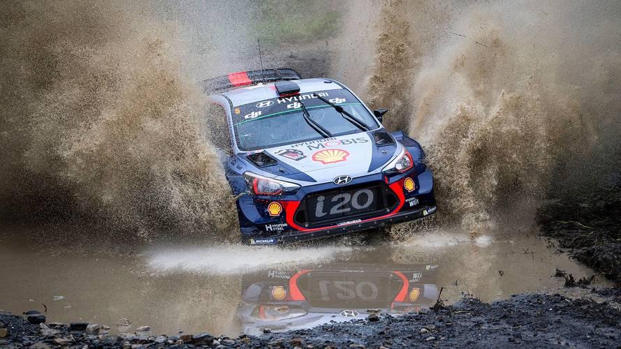Neuville ganó el Rally de Australia 2017... ayudado por la lluvia