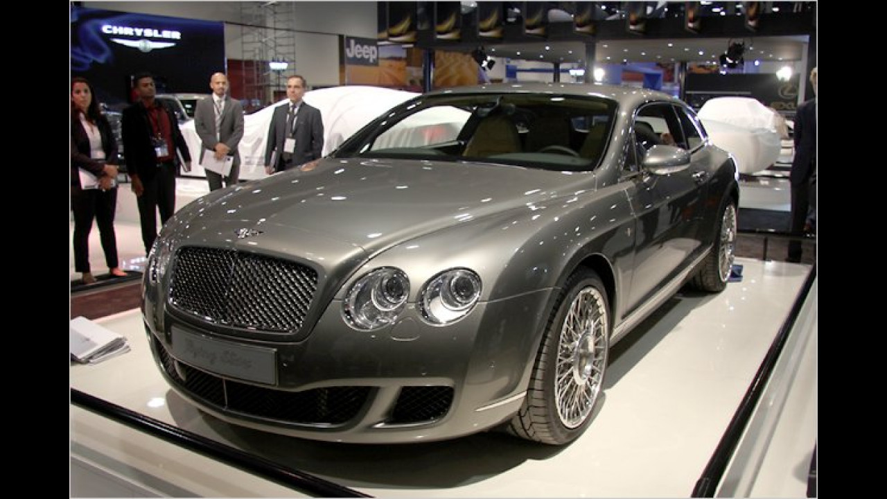 Touring Bentley Continental Flying Star