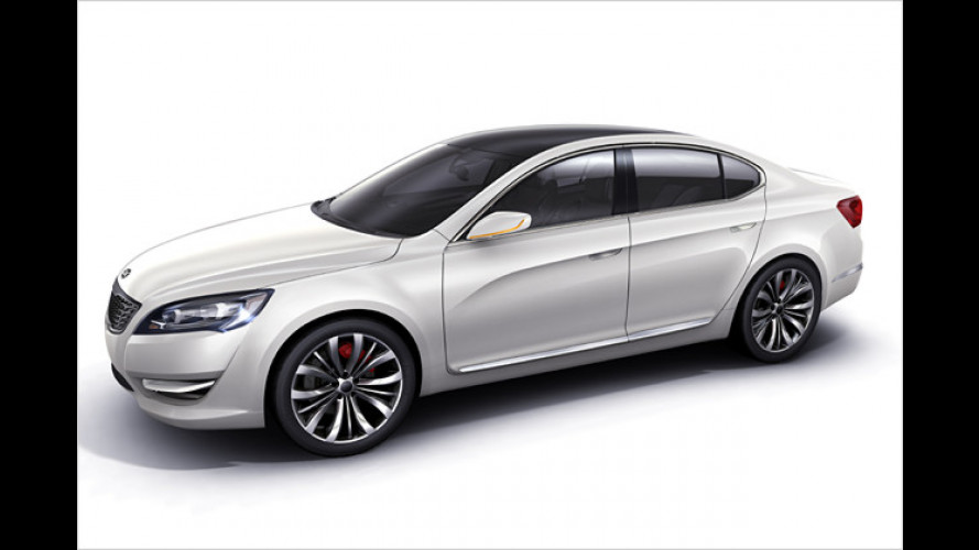 Ausblick auf den neuen Oberklasse-Kia: Concept Car KND-5