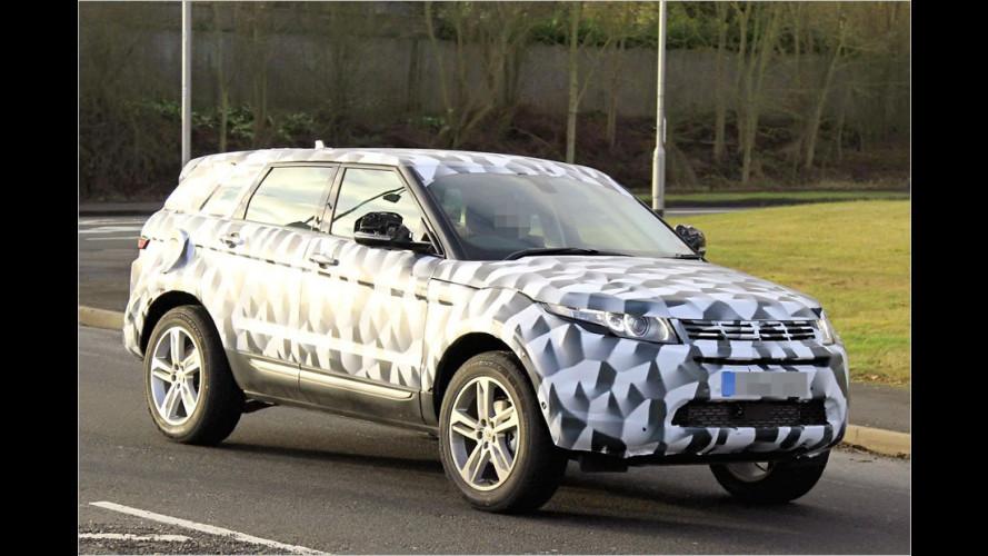 Erwischt: Land-Rover-Zukunft