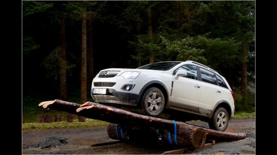 Mehr PS fürs gleiche Geld: Neuer Opel Antara im Test