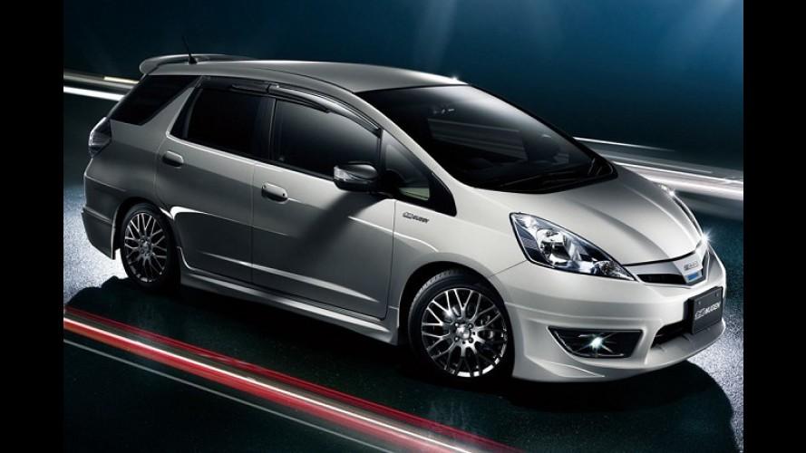 Honda Fit Shuttle ganha preparação esportiva da Mugen no Japão