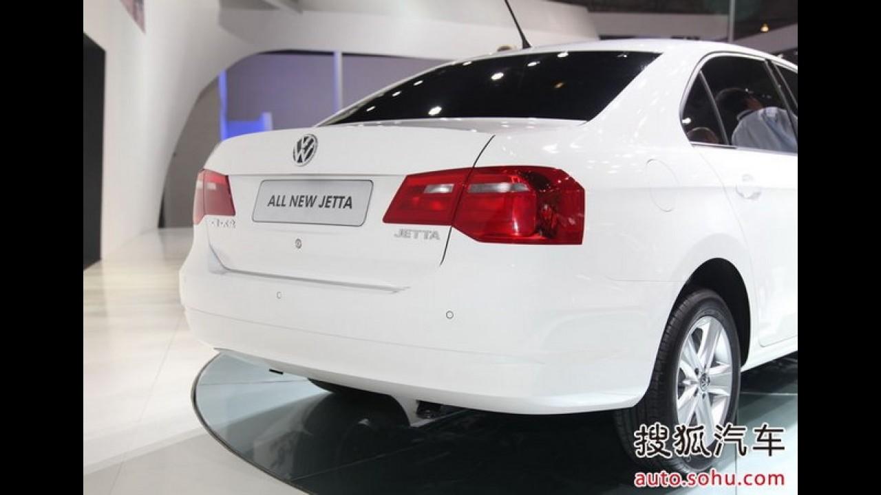 Volkswagen Jetta NF 2013 - Versão chinesa para substituir o Polo sedan