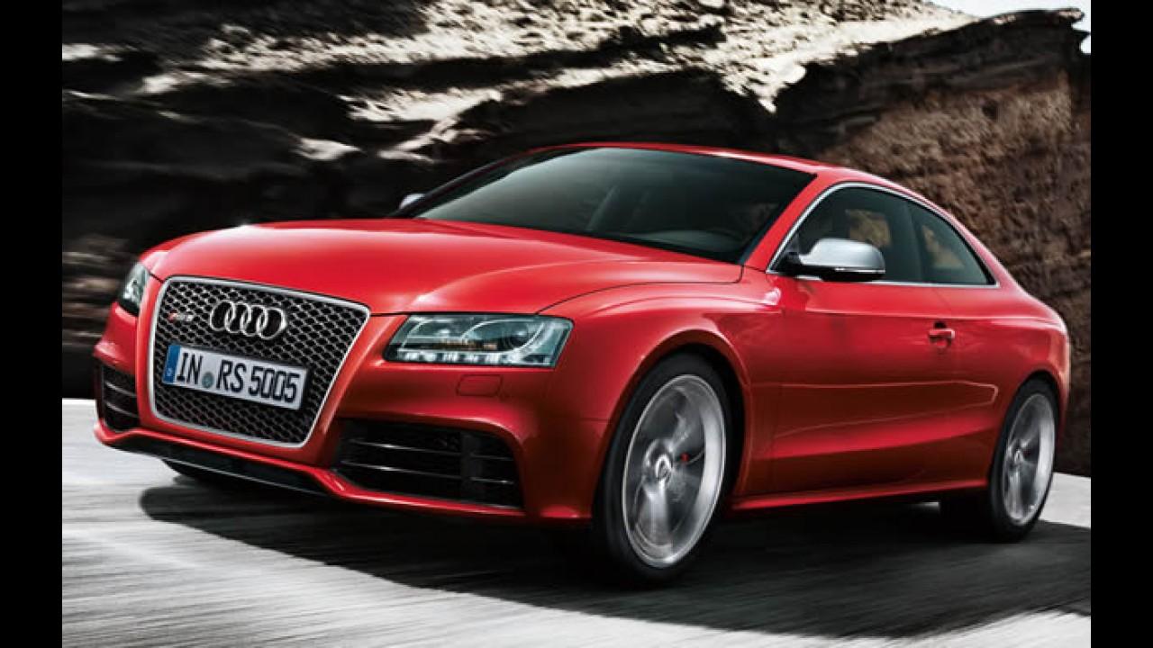 Vazou!! Confira galeria de fotos do Novo Audi RS5 2011