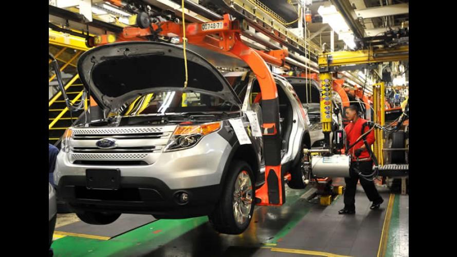 Ford inicia produção do Novo Explorer em Chicago