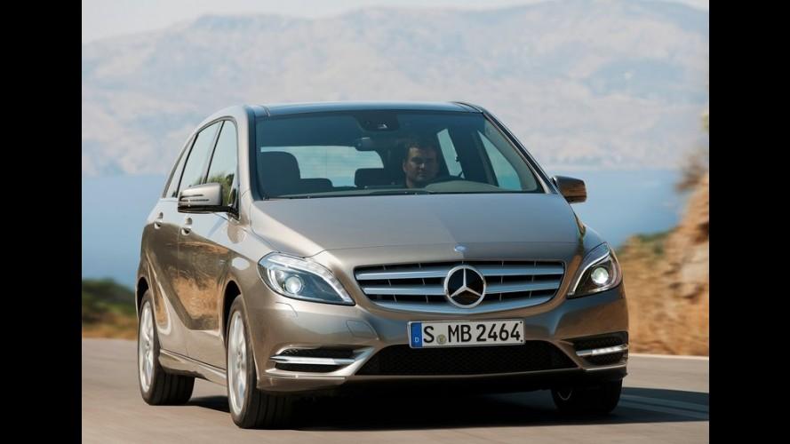 Nova geração do Mercedes-Benz Classe B será lançada no Brasil no início de outubro