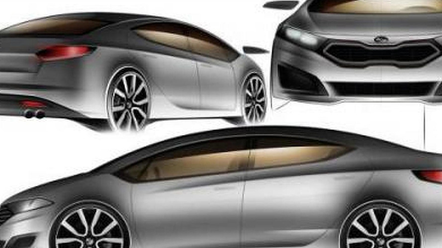 2013 Kia Forte design sketches leaked?