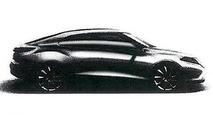 2014 Saab 9-3 design sketch leaked