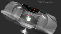 Apple Car 2076, smart glass