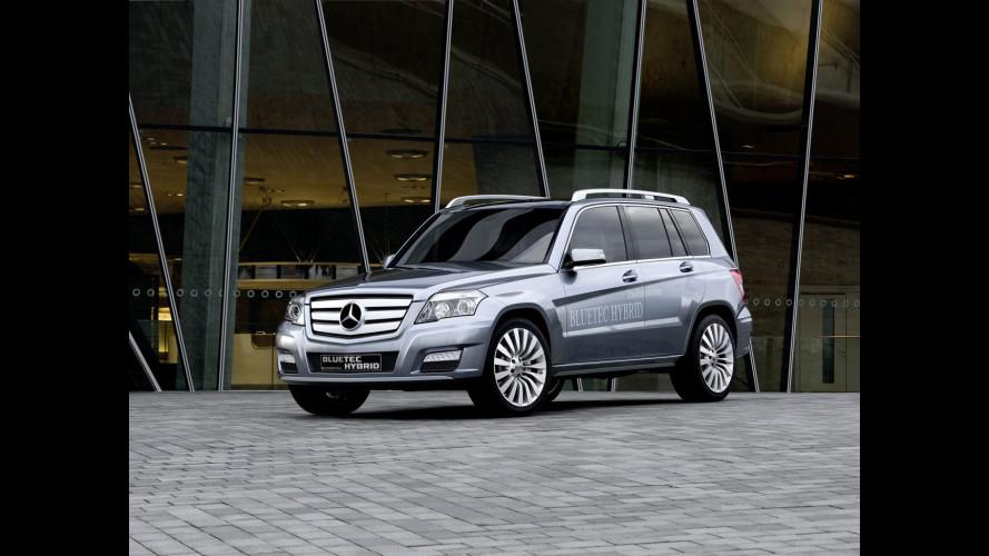 Mercedes GLK BLUETEC HYBRID