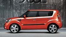 Kia Soul in Tomato Red