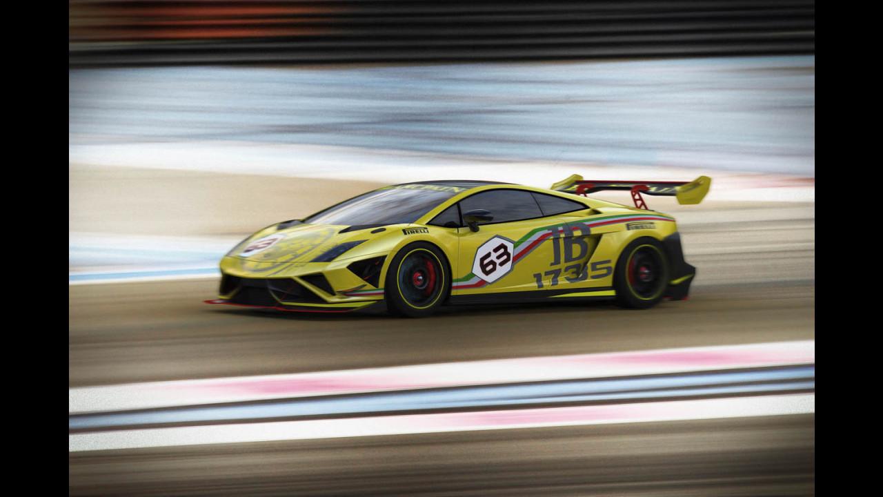 Lamborghini Gallardo LP 570-4 Super Trofeo 2013
