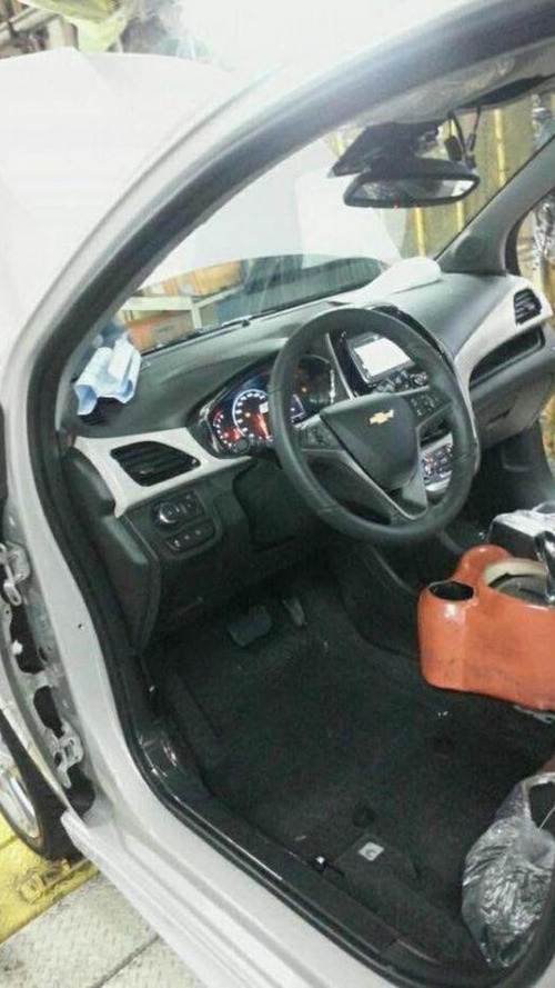 New Chevrolet Spark interior revealed in spy photo