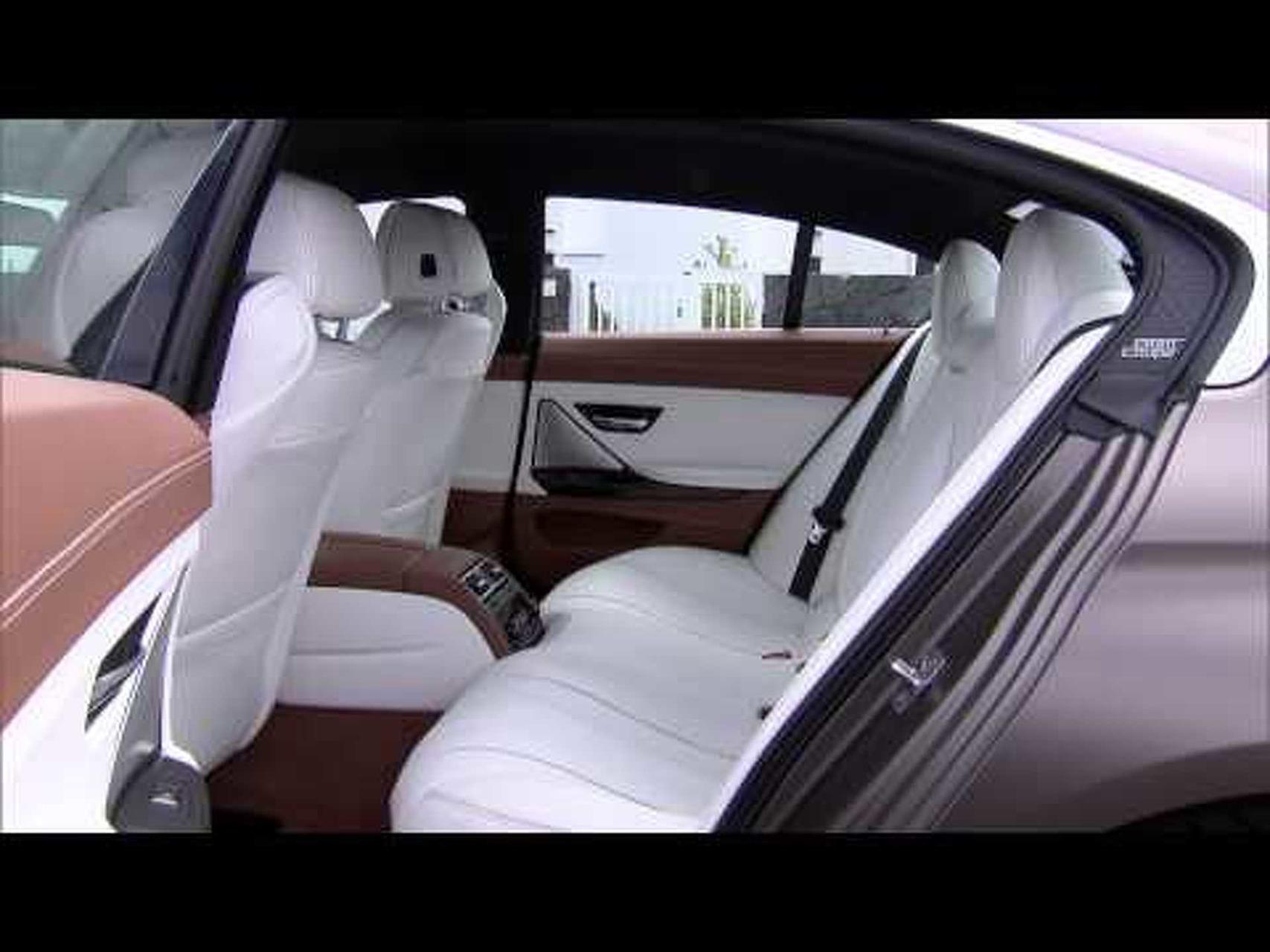 2013 BMW 6-Series Gran Coupe - Interior Design