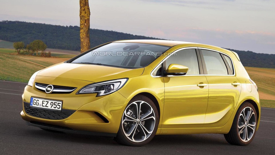 2013 Opel Corsa facelift spied, next-gen rendered
