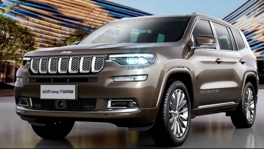 Jeep Grand Commander, il SUV 7 posti per la Cina