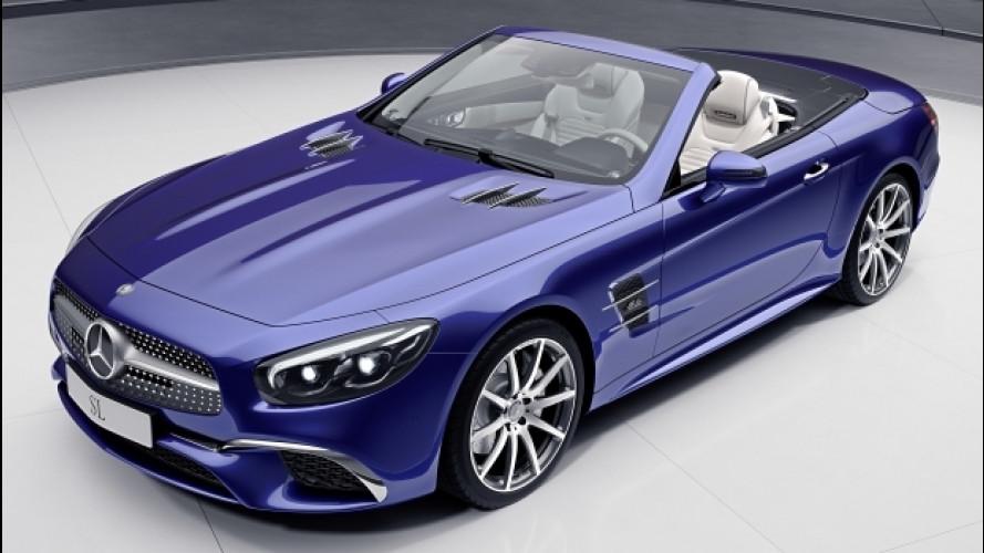 Mercedes, due edizioni speciali per SL e SLC