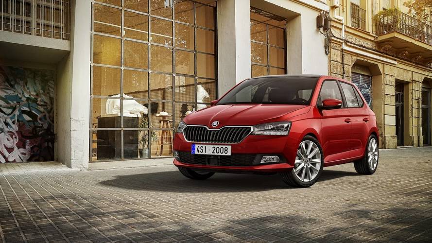 2018 Skoda Fabia Unveiled With Subtle Facelift, Big Wheels